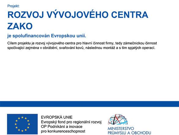 Rozvoj vývojového centra ZAKO