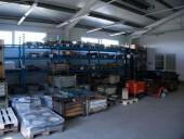 Vstupní a výstupní sklad materiálů, polotovarů a výrobků